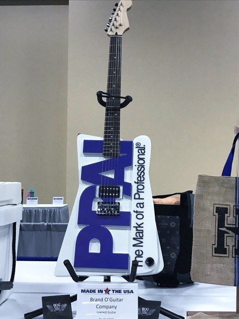 Branded Guitar