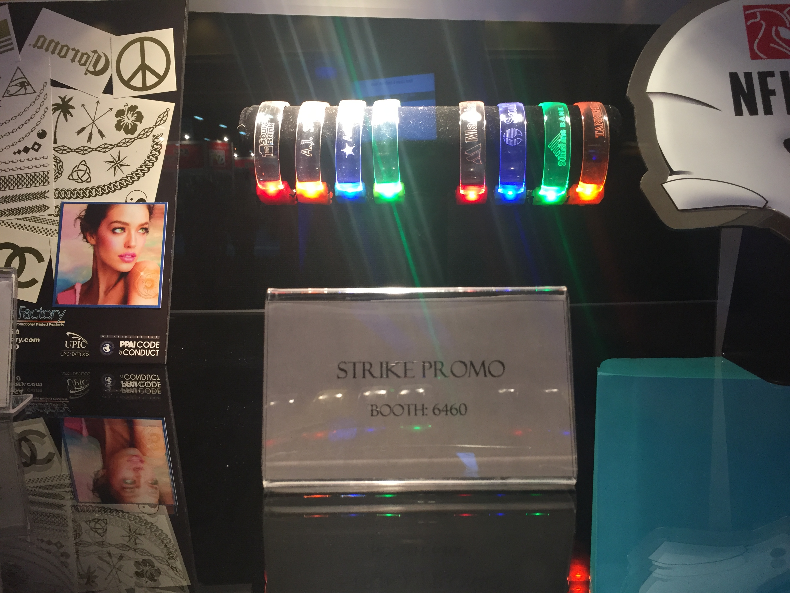 LED Sound and Motion Wristbands
