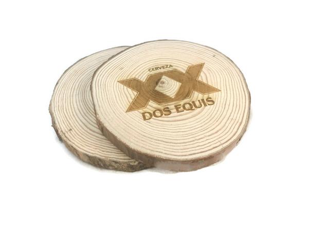Biodegradable Wooden Coaster