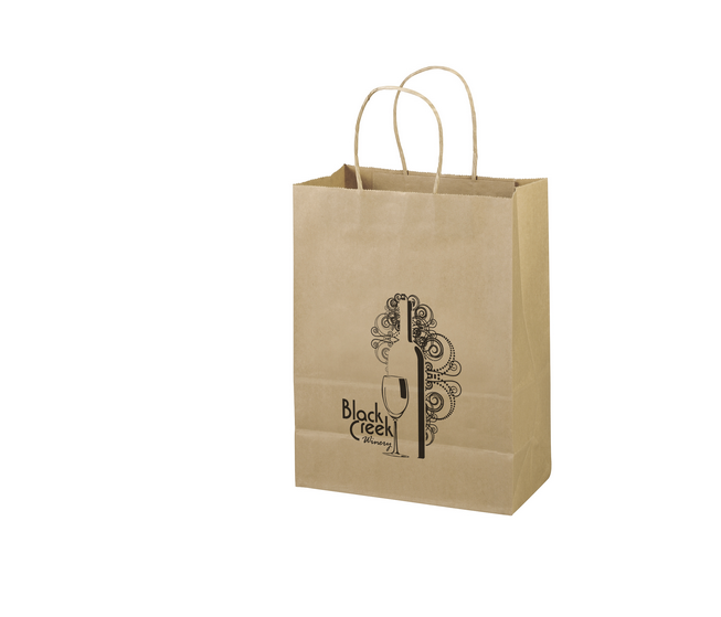 100% Recycled Paper Bag