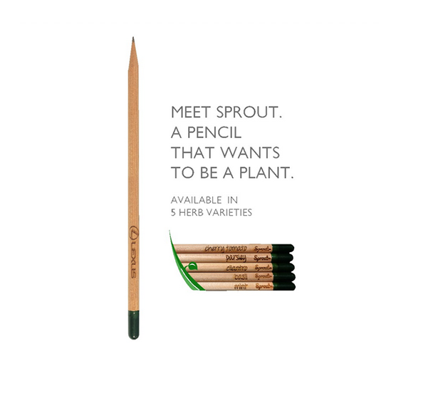 Eco-Friendly Sprout Pencil