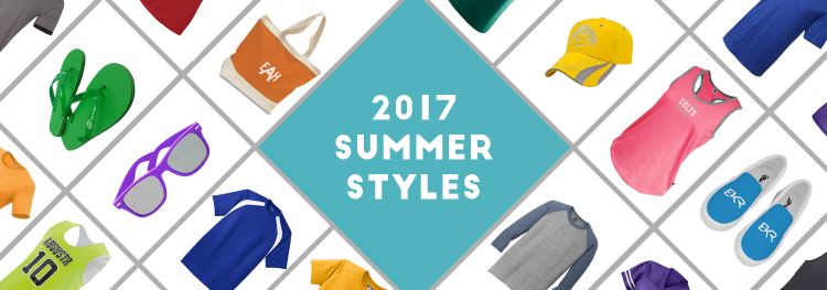 This Summer's Hottest Styles in Promotional Apparel