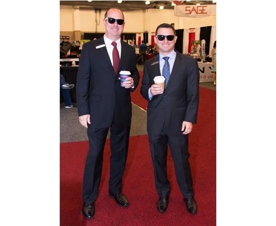 David Natinsky, SAGE President and Eric Natinsky, SAGE CEO