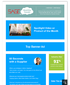Monthly Trends Email Ad