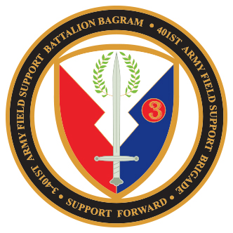 Army Field Support Battalion Bagram after ArtworkZone