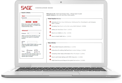 SAGE Knowledge Base