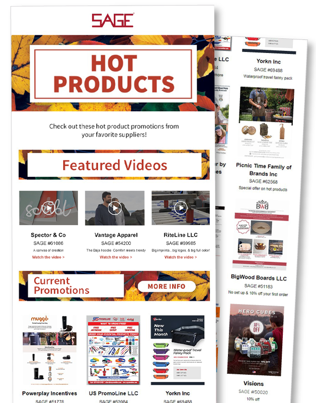 Hot Products Specials Ad