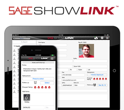 SAGE Tradeshow Lead Retrieval - ShowLink